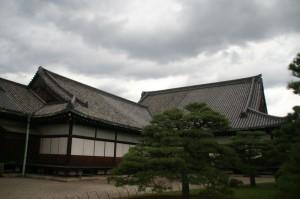 Le palais, vu de l'extérieur