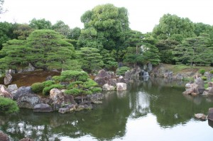Le jardin du palais