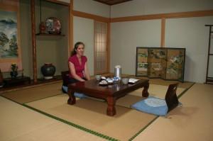 Notre chambre au ryokan