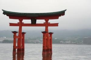 Le torii carrément de l