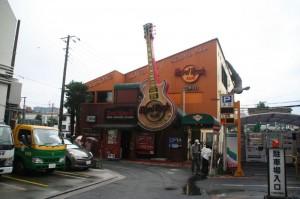 On croise le Hard Rock Café de Tokyo