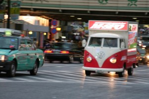 VW Tranporter publicitaire