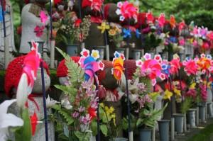 Cimetière des enfants non-nés du temple de Zojoji