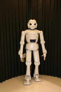 Le robot trompettiste de Toyota