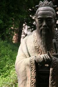 Confucius sa statue