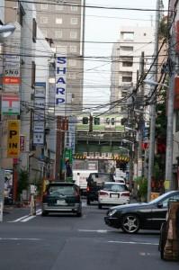Dans les environs d'Akihabara