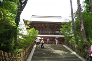 La porte du temple