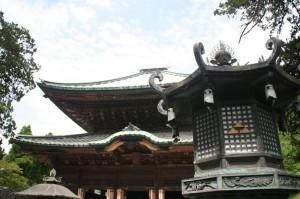 La porte du temple zen