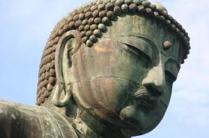 Bouddha sa tête...