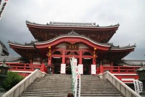 L'accès au temple