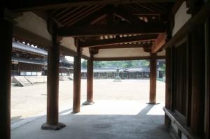 La cour du temple
